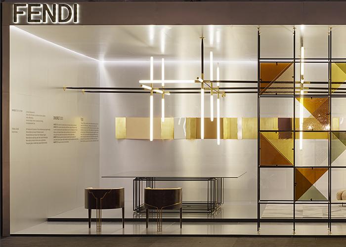 Fendi design miami 2014 dimorestudio for Design seminterrato non finito
