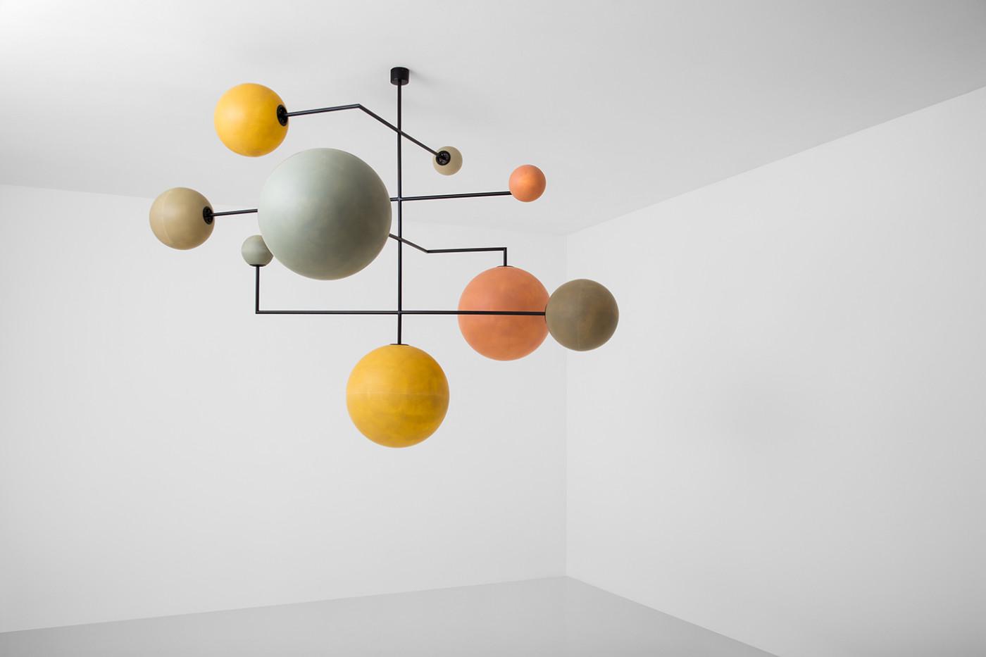 Lampada with progetto for Design seminterrato non finito