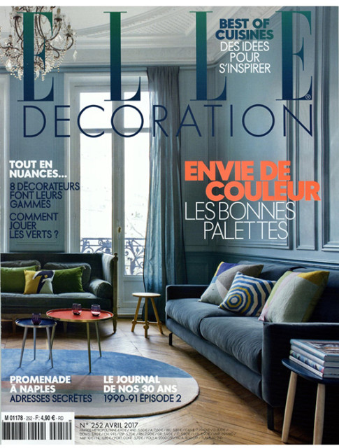 ELLE DECORATION APRIL 2017