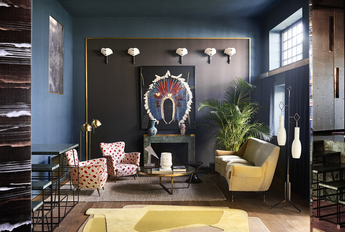 Paris junot dimorestudio for Studi interior design roma